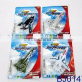 Good quality mini die cast toy metal glider plane model
