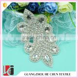 HC-3477 Hechun Korea Style Hot Fix Crystal Bead Bridal Applique for Women Clothing