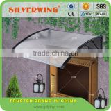 Modern transparent plastic awning small window awning parts for window awnings or door awning cover snow shelter canopy