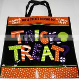 Lead Free Non Woven Promotional Halloween Trick or Treat Bag