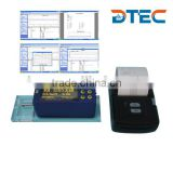 DTEC DRT320 Surface Roughness Tester,28 parameters,built-in SD card,bluetooth printer,remote control,USB to PC with software,ISO