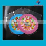 Plastic pvc customized printing shrink label for candy box packaging