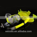 Wholesale Comfortable scuba diving equipment,diving mask,diving snorkel