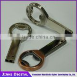full capacity 32GB cheap factory price custom bottle opener usb