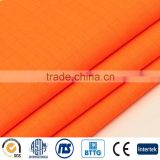 Fluorescent orange modacrylic FR fabric complied with EN20471