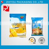 custom made plastic packaging materials heat seal food safe frozen vagetable packaging bag