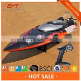 Hot selling 2.4G water cooling high speed rc model boat yacht propel rc toy for sale