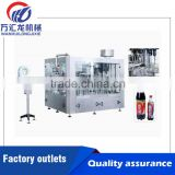 High productivity small carbonated drink filling machine manual bottle filling machine with CE and ISO standatd