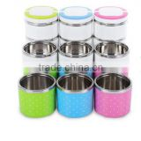 Stainless Steel Food Container Insulation Bento Thermo Thermal Lunch Storage / food container lunch box