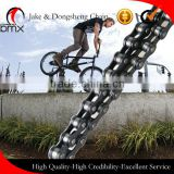 "Zhejiang Jinhua Yongkang gearshift/speed change bicycle chain 408 1/2""*3/32"" carbon fiber bicycle chains/adjustable speed chain"