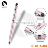 KKPEN touch screen ball point pen with customized logo printing new design touch sensitive screen stylus ball pen