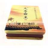 dongguan OEM luxury print tobacco tin box package