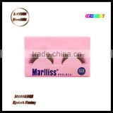Factory own brand silk eyelashes, Marlliss blink 522 false lashes