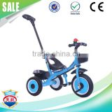 Ride on toy cheap kids tricycle for baby child tricycle with adult push bar