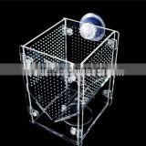 Acrylic Aquarium fish breeding trap, guppy breeder box