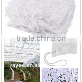Blind Material Fungi resistance Oxford Fabric Jungle military Digital decoration white camo netting