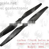 Marine composite material carbon fiber propeller for agriculture UAV drone/Agricultural plantation RC drone