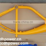 Bike Frame With Gas Tank/bicycle petrol engine kit