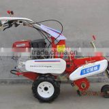 Multi-functional manual start gasoline power rotary tiller of farm equipment