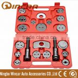 21pcs set auto car brake caliper piston pad disc wind back rewind tool set kit