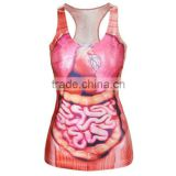 All Over Sublimation Printed Vest Made in China
