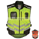 High Visibility Yellow Reflective Safety Vest Fly Fast Pass Vest Motorcycle Vest