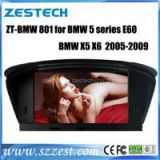 Zestech Touch Screen Car Dvd Player for BMW 5 series E60 x5 x6 2005-2009 dvd gps with Radio Bluetooth TV Multimedia Navigation System autoparts