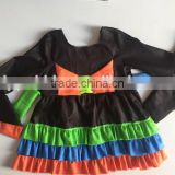 Hot sale halloween costumes for kids boutique girls costume dresses witch dresses for little girls