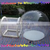 Transparent inflatable bubble house/clear show room