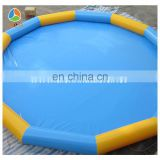 children playing inflatable swimming pool, swimming pool