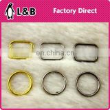 Bra accessory 10mm metal ring slider hook