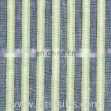 LINEN FABRIC DARK VOILET AND LIGHT YELLOW