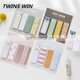 Austria Fashion cute stationery Customized Promotion Multi Purpose leaf shaped sticky notes pad with logo