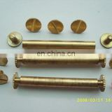 Gold metal screw cap,screw cap for roof,sheet metal roofing screws