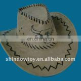 Leather cowboy hat / Fashion cowboy hat