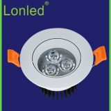 Lonled Anti Dazzle LED Spotlight Aluminum Case high power 3-18W  Isolated Driver