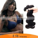 human hair extensions for black women, hot selling brazilian body wave grade curly hair extension for black women
