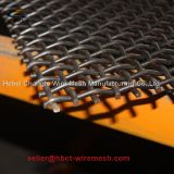 65mn/45mn Square Vibrating Screen Mesh/ Crimped Wire Mesh with Hook
