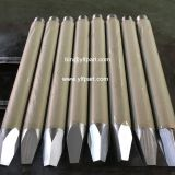 Hydraulic hammer demolition Indeco parts chisel rod bits HP700,HP900,MES553,MES121,MES181,MES180