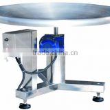 lazy susan rotating tray after packaging machine