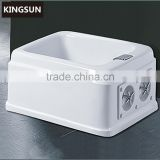 Kingsun Rectangular Acrylic Pedicure Tub Foot Bath Tub