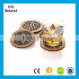 Factory supply round cork mat custom printed cup cork coaster                                                                                                         Supplier's Choice