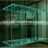 led glass shelf light/led glass panel