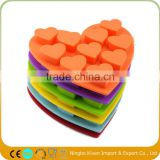 Silicone Heart Cake Chocolate Cookies Baking Mould DIY Ice Cube Mold Tray