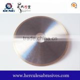 Good quality Continuous rim Electroplated cutting diamond blade with Straight protections