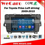 Wecaro WC-TP8004L android 5.1.1 car dvd for toyota prius 2009-2014 navigation radio gps multimedia WIFI 3G Playstore