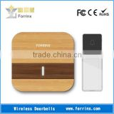 FORRINX Wood Transfer Wireless Digital Door Chime 52 Melodies 300m Range Waterproof