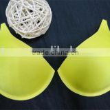 Wholesale Yellow Foam Bra Cups for Wedding Dress