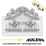 decorative flower iron main gate design /Best Selling Products Home Main Gate Designs Residential Building