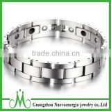 High quality custom tungsten magnetic bracelet made in china manufacturer blood pressure magnetic bracelet
